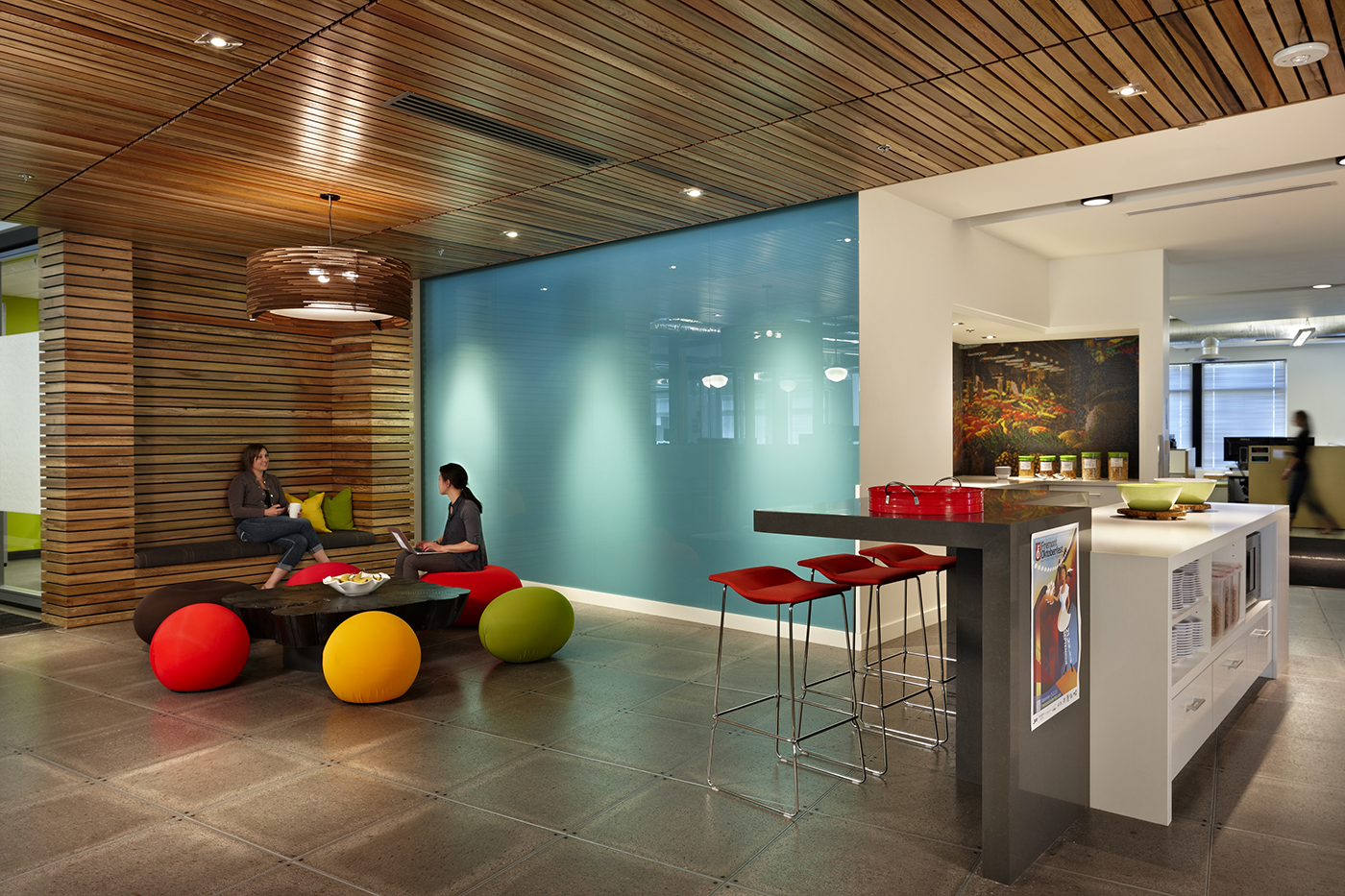How millenials are changing expections for office space for Funky office designs